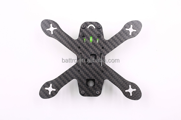 FPV Racing Crossing Drone GEP 130X Mini Quadcopter Carbon Fiber Frame Kit