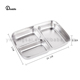 Factory direct 304 stainless steel adult bento eco take away lunch box
