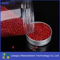 plastic mater color masterbatch peachpuff rose wine red fabric pellet product for nonwoven pe/pp/eva injection/extrusion/blowing