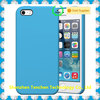 original liquid silicone case for iphone 5/5s/se blue