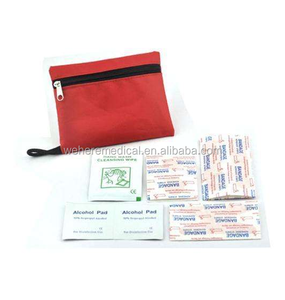 Mini sports first aid kits/sets/bags