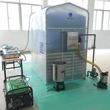 China Puxin Family Biomass Power Plant 3.4m3 Portabel Biogas Digester