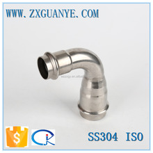 Stainless Steel 90 Degree Reducing Elbow Press Fitting