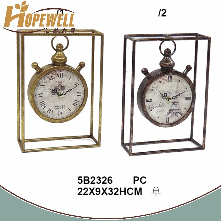 wholesale amaze price movable face bling table clock