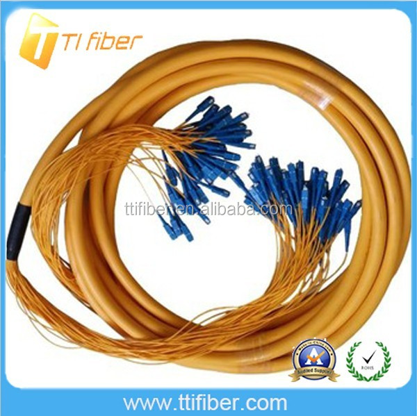 Multi Core Fiber Optic Jumper Cable 48Core SC/SC
