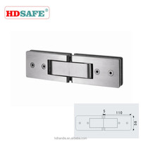 High quality stainless steel shower hinge for glass door