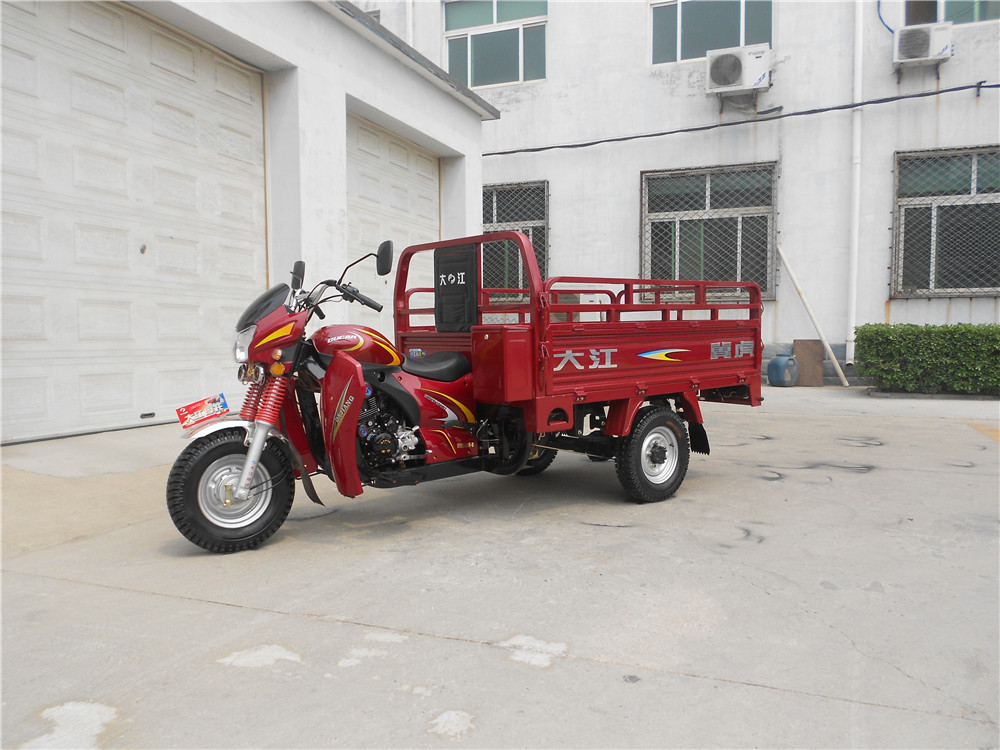 petrol three wheeler cargo trike with low price