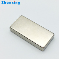 Hot selling 34x8x2mm Super strong neodymium Bar magnets for sale
