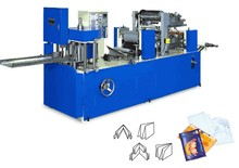 CJ-B normal napkin embossing/emboss and folding/fold machine with color printing