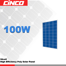 75w 80W 90W 100W Solar Panel Poly Crystalline silicon Photovoltaic PV cell used for Solar kit