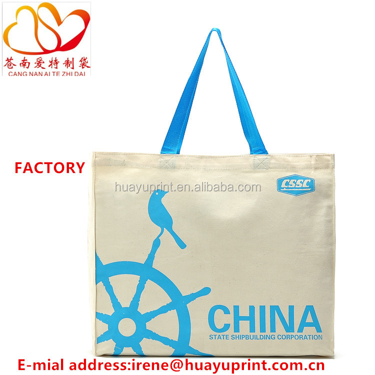 Eco cotton tote bag/Cotton bags promotion/Customized cotton tote bag
