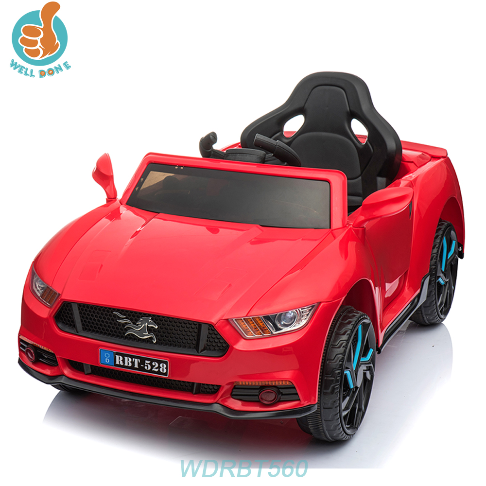 WDRBT560 Kids Rechargeable Battery RC Toy Car With One Button Start