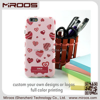 MIROOS high quality shockproof tpu pc combo custom full color printing mobile phone case for iphone 6