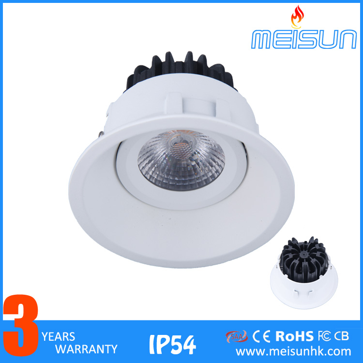 High Power Dimmable 25W cree cob retrofit dimmable led recessed downlight For Market Home Store(MS31501-4)
