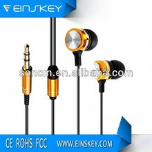2014 Popular Wired E-E015 2 Way Communication Headset With Stereo Sound