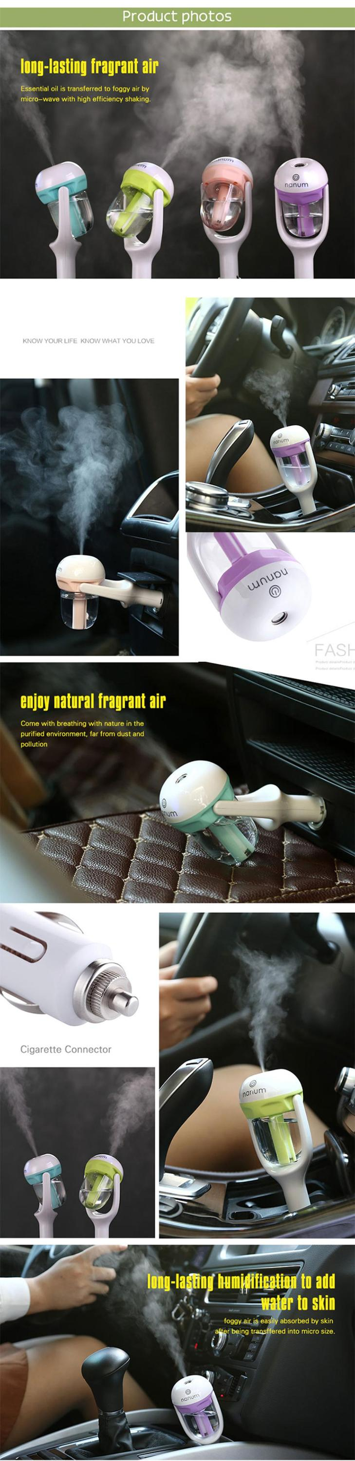 mini handheld mobile automatic travel digital auto cold storage usb air conditioner decorative car humidifier portable guangdong