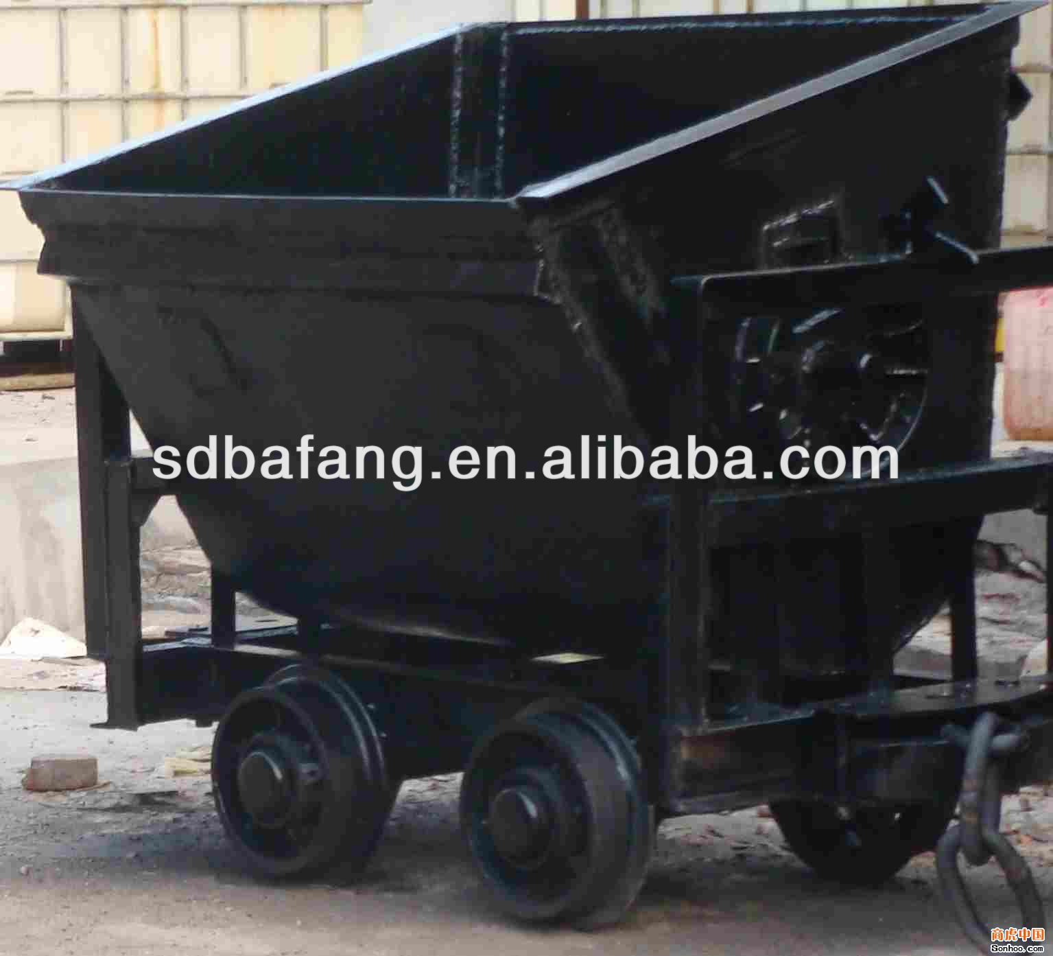 cheap price bucket tipping mine car/mine wagon/mining rail car for sale