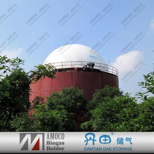2015 China high capacity storage tank used as septic tank /digester /fermentation cylinder
