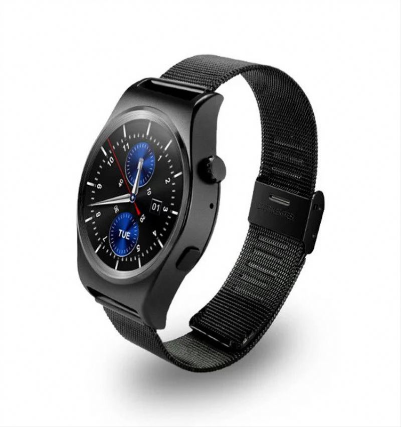 1.54 inch sim card smart watch phone 3g single sim mobile phone wrist watch bluetooth watch for android phones