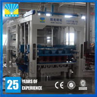 Fully automatic frequency cement paver brick hollow block making machine price