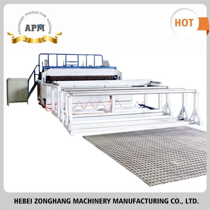 APM concrete reinforcing steel mesh welding machine/Maintenance period:one year