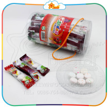 Fruit Jam Centre Filled Crispy Bubble Gum