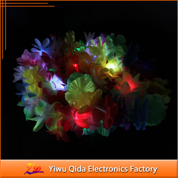 party decoration wholesale light up hawaiian leis