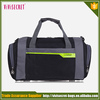 2015 New Items nylon sport bag cute girl travel bag nylon duffle bag black