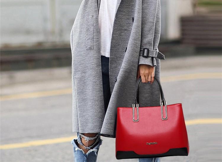 chine promotion prix 2017 nouveau design dames paule sac de mode en gros pu sac main en cuir. Black Bedroom Furniture Sets. Home Design Ideas