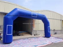 Customized Sewn Blue Color Cheap Inflatable Arch
