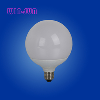 China LED light indoor lamp bulbs plastic and aluminum PC cover 270 degree IC driver SMD E27 18W G120 bulb
