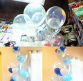 10inch 12inch Transparent Color Round Balloon, Clear Balloon for Party Decoration