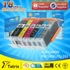 for Canon compatible PGI 550 CLI 551 ink cartridge with 24 months warranty