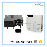 Wholesale UNIC High Resolution Mini Handy HD 1080P Digital Projector UC28+