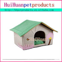 Lovely style pet house memory foam dog house