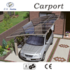 Strong and durable aluminum car parking shade the portable folding garage