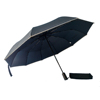 Windproof Travel Umbrella Golf Umbrellas, 10 Ribs Automatic Windproof Canopy Compact Auto Open Close