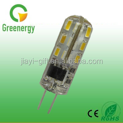 Greenergy China LED G4 AC220V 1.5W SMD Silicone G4 LED Light