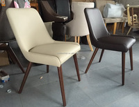 Morden Dining chair with wooden legs