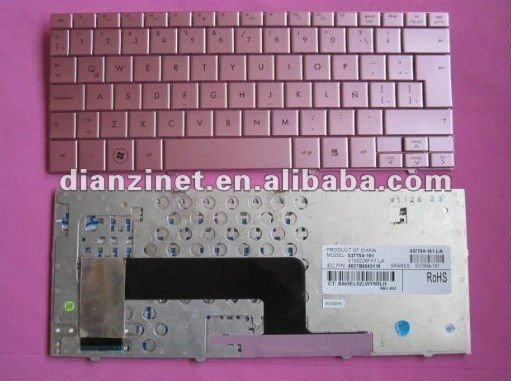 LA version Pink color laptopo keyboard for HP/COMPAQ Mini 110
