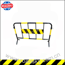 Highway Road Safety Construction Removable Pedestrian Crowd Control Barricade