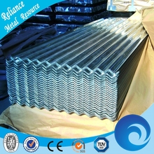 Construction Roof Prepainted Color Zinc Coated Corrugated Steel Roofing Sheets