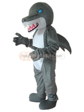 HI CE hot sale Blue Eyes Shark mascot costume,festival shark costume,cartoon shark mascot