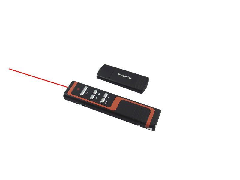 2011, 10, NEW DESIGN Wireless RF Presentation Laser presenter Pointer