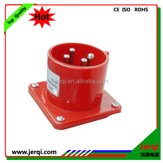 JQ2-514 3P+E industrial dustproof 16 amp hide direct plug