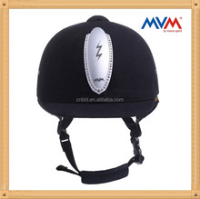 dial style size adjustable velvet material equestrian helmet all sizes S M L