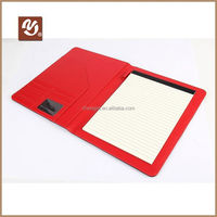 2015 New design pu cover clipboard with writting pad