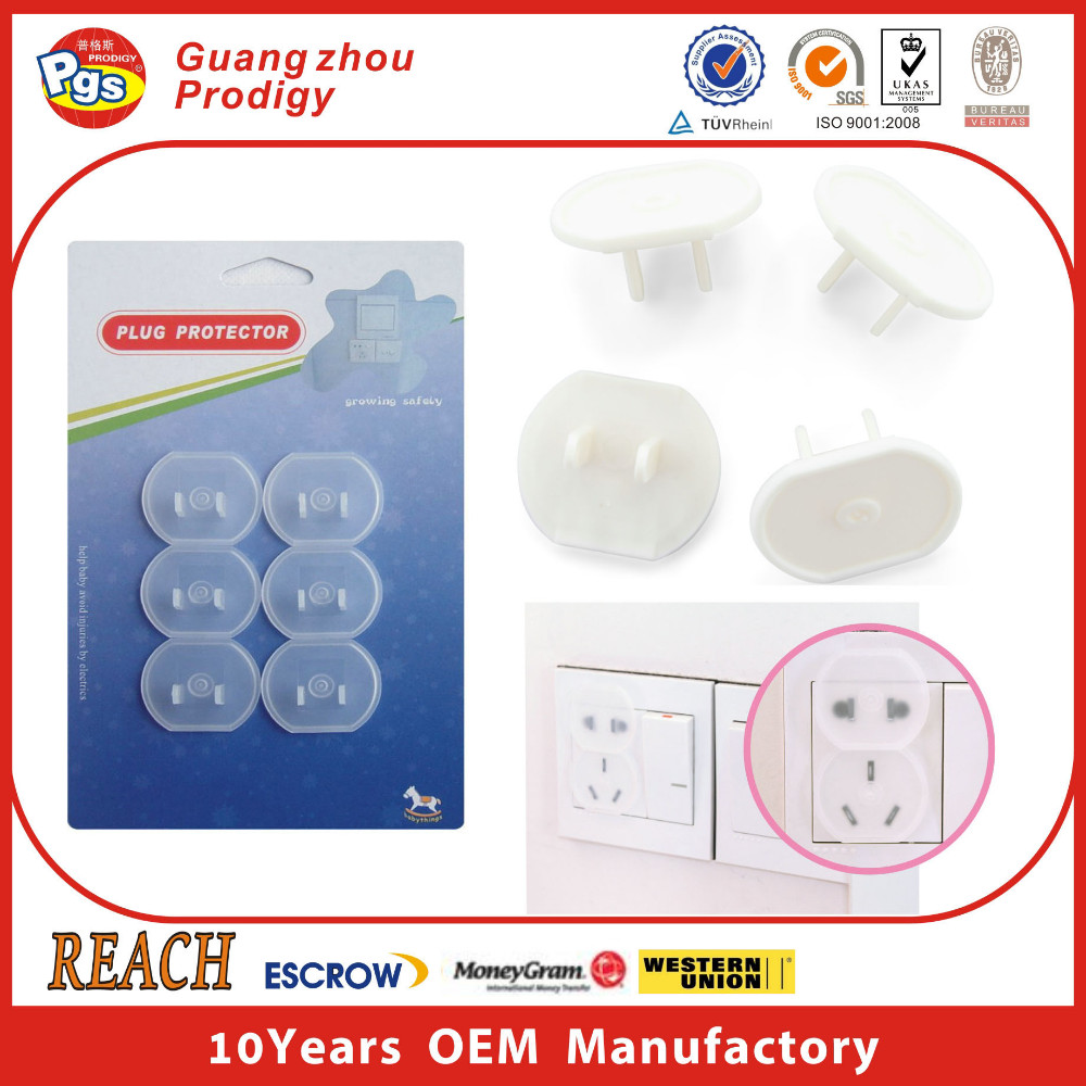 Child safety plug socket covers/electric outlet cover/plug protector baby