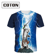hot sale blank custom print all over print wholesale sublimation t shirt