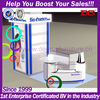 Best selling modern design cosmetic retail kiosk stand